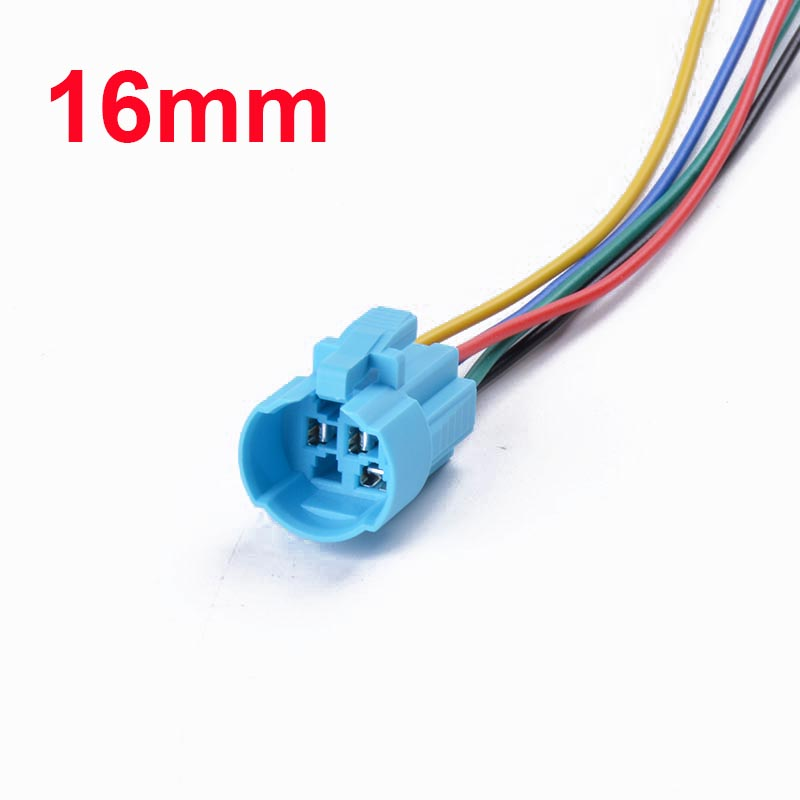 16mm 19mm 22mm cable socket for metal push button switch