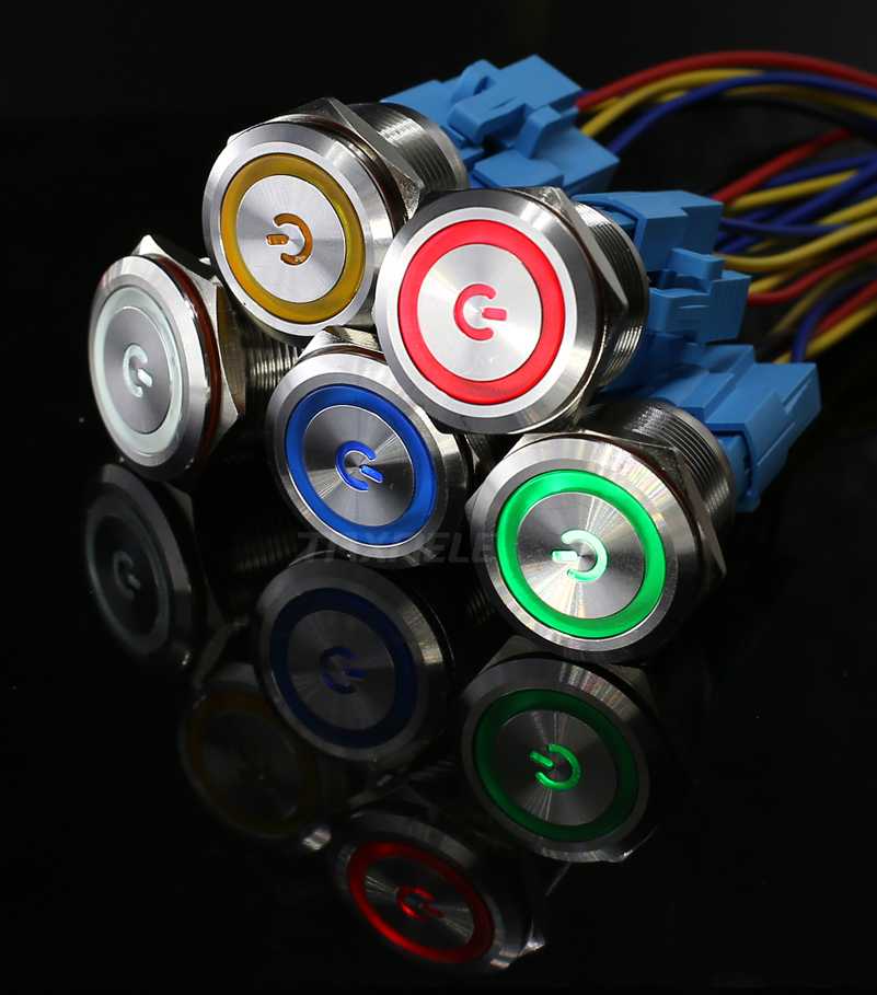 22mm led Metal Push Button Switch